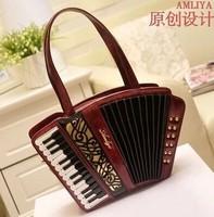 Princess sweet lolita gothic lolita bag Original amliya female bag Accordion package Vintage classic piano handbag shoulder bag