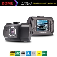 2014 New LP100 Car Camera Car Video Recorder FHD 1080P 1.5inch LCD with LDWS FCWS Registrator Car DVR