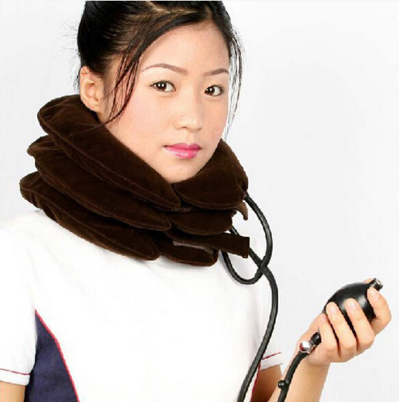 Wholesale Cervical Neck Traction for Headache Head Back Shoulder Neck Pain Relax Kit for man woman(China (Mainland))