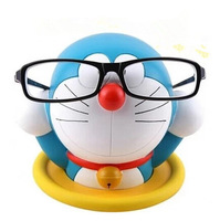 Free shipping new arrival fashion Anime Cartoon Doraemon eyeglasses holder The Robot Spirits PVC glasses holder Figure Toy 14CM