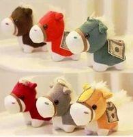 2014 HOT SALE pony Plush toys Baby Kids Plush Toys Christmas Gifts wedding gift dolls children Entertainment gift