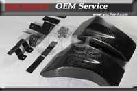 Carbon Fiber KS Style Brake Cooling Guide Kit Fit For 2008-2013 Nissan Skyline R35 GTR