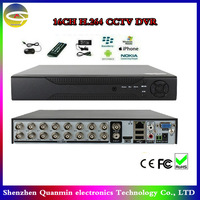 16CH Channel CCTV DVR Home Surveillance ,H.264  Digital DVR Recorder Support Remote View By Mobile phone,cctv dvr recorder