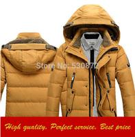 New Down Jacket,Hoodies Thickened Outdoors Parkas, Men's Winter Duck Down Jacket Men Outwear Sport Coat M-3XL