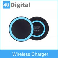 Mini Qi Wireless Charger Transmitter Pad for Google Nexus 4/5 Nokia Lumia 920 iPhone 4/4S Samsung S4 Ultrathin Slim