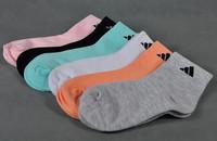 2014 Free shipping 12pairs/lot cotton socks kids children socks for sport mixed colour shipment KLL015