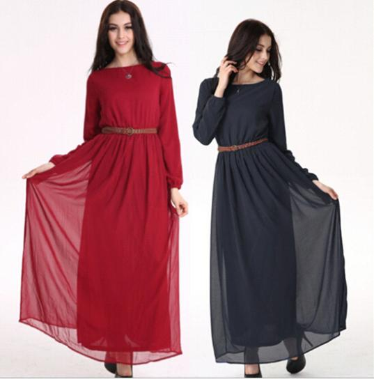 Long Dresses For Muslim Women - RP Dress
