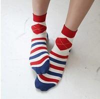 Fashion woman  socks 100% cottom   free shipping