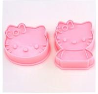 20set/lot  Hello kitty shape mold sugar Arts set Fondant Cake tools/cookie cutters CM0028