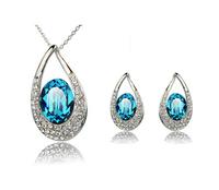 star silver jewelry set, Tz-1319