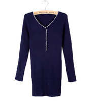 New fashion 2014 autumn and winter high-quality round neck Slim woman bottoming sweater free shipping