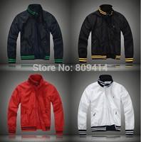 2014 Brand Polo jacket men Windcheater spring autumn leisure sport Coat men winter Outerwear sports wear jackets free shipping