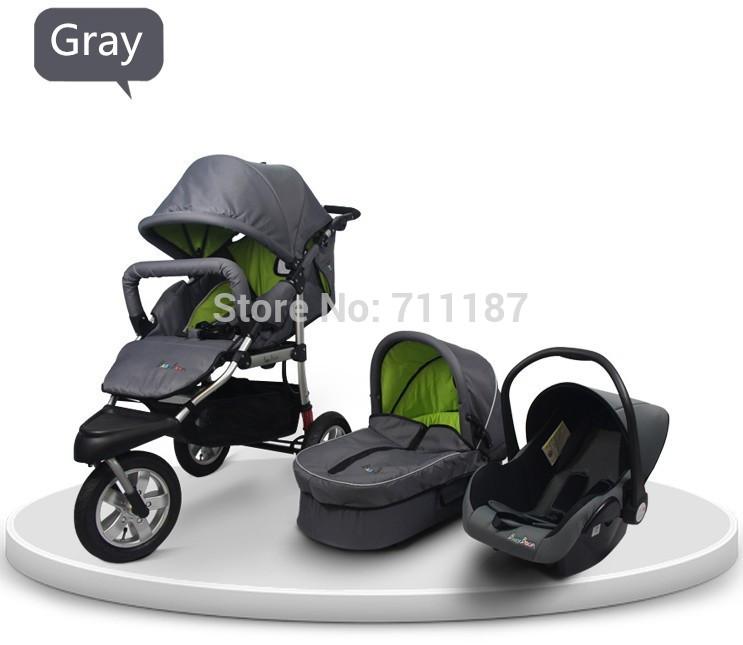Горяч-продавая наслаждайтесь большие скидки 3 в 1 детских колясок сделано в китае бесплатная доставка и быстрая доставка