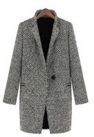 Hot New Fall and Winter Clothes Women Woolen Coat Hair Coat Wool & BlendsPlus Size Outwear Trench