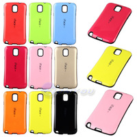 New Arrival Fashion Korean Style iFace Case For Samsung Galaxy Note 3 N9000 Durable Korea Candy Color Hard Back Cover 10 Colors
