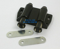 10 Sets Double Magnetic Head Cupboard Cabinet Door Catch Latch / Black