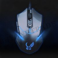 V-7700 Brand 1600 Max DPI 6D Buttons Avago Engine Optical Wired Gaming Mouse USB Wired Professional Game Mice Dota 2 Mouse Gamer