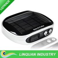 2014 new product solar car air purifier /solar dual power air cleaner /negative ion air freshener