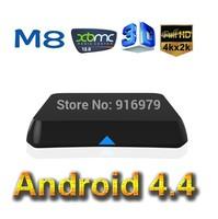 2014 EM8 Amlogic S802 Quad Core Android TV Box 2G/8G Mali450 GPU 4K HDMI install xbmc android 4.4 set top box android mini pc