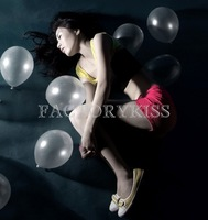 Free Shipping 100pcs Transparent Crystal Latex Balloons Birthday Party Decor Balloons Party Decoration baloes [4 4007-767_100]