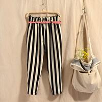 new 2014 summer korean Women harem pants linen leisure pant with belt lulu pants sweatpants free shiping