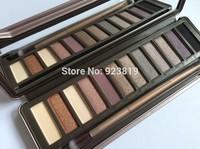 (HOT) High quality makeup eyeshadow Palette NK2 12 color eye shadow (120pcs/lot) DHL free shipping!