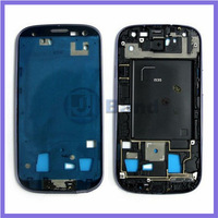 Blue Silver Original Middle Housing Chassis Bezel Plate Front Frame For Samsung Galaxy S3 i535 R530
