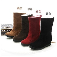women snow boots Increased high in shoes waterproof boots student shoes boots EUR34-43