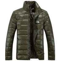 2014 new brand men's outdoor Winter Outdoor Windbreaker thin  Coats Down Jacket Clothes free shipping