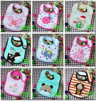 2014 Brand 10pcs/lot Carters Baby Bibs Bape Feeding Cartoon Design For Boys Girls Innovative Items Fisher Price