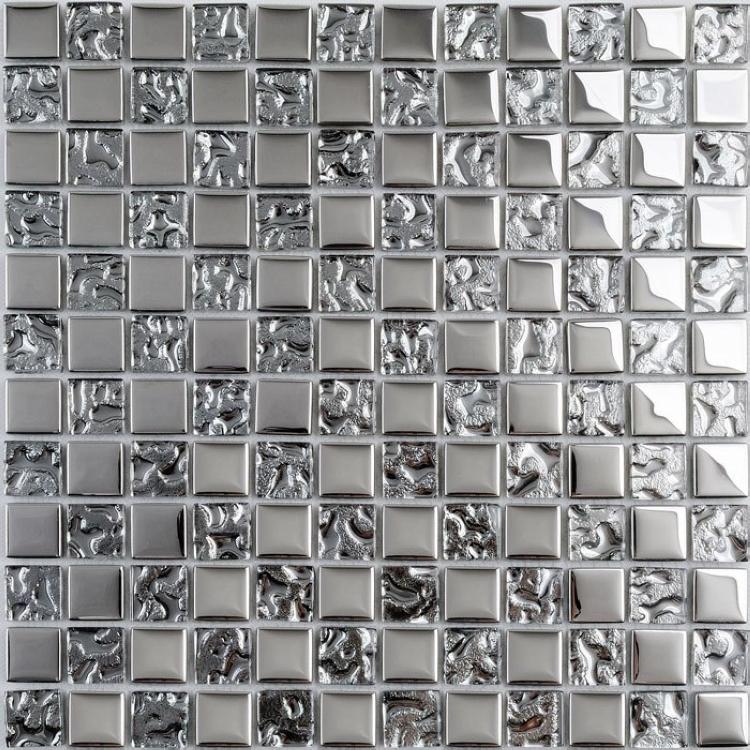 Azulejos Para Baño De Cristal:de plata cristal azulejos de mosaico de vidrio para baño azulejos de