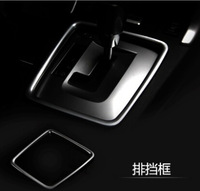 New Edition ABS Chrome trim instrument table gears box trim for SUBARU forester 2013 / 2014 / 2015