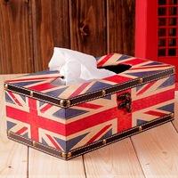british style classic tissue box retro vintage home finishing props home decoration  christmas decoration
