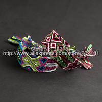 Free shipping Fashion jewelry handmade weave rope string CORTTON african woven bracelet friendship bracelets