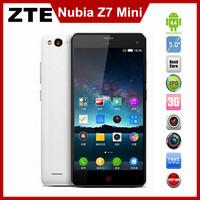 Original Newest ZTE Nubia Z7 Mini 4G LTE cell phone 5 inch 1920x1080 1080P MSM8974AA Quad Core 2GB Ram Android 4.4 13MP Camera