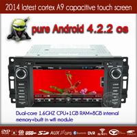 Chrysler 300/Challenger/PT Cruiser/Aspen GPS Navigation Radio DVD 1080P HD Screen Andriod 4.2.2 OS 1.6GHZ CPU with BT WIFI 3G