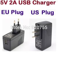Original EU Plug or US Plug Universal USB Charger AC Power Adapter for Tablet PC Cellphone TV Box Stick Dongle Mini PC DC 5V 2A