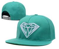 2014 new Diamond snap backs cap brand mens and womens baseball caps/casual outdoor travel snapback Casual Summer Hat bones hats