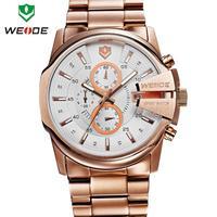 2014 30m water resistant WEIDE luxury brand sport watch waterproof men stopwatch hour date watches quartz military wristwatches