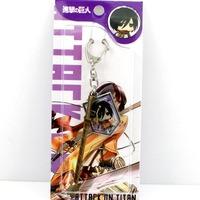 free shipping japan anime  Shingeki no Kyojin keychain keyring phone strap (10pcs lot) b2615