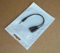 Zipper Plastic Retail Packaging Bag, Poly bag Hang Hole for Gifts car charger USB cable line accessories