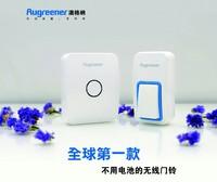 Augreener wireless doorbell household waterproof no need battery 2014 new model freeshipping