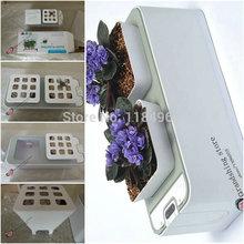 Free Shipping 2014 New Smart Mini hydroponics Garden Pots fl