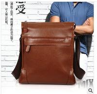 2014 authentic business men's bags fashionable men's bags One shoulder aslant portable men bag 1 pce wholesale Men messenger bag