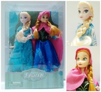 "New with box,Frozen ELSA and Anna 12"" Classic Dolls gift for children Collector's Edition dolls not inclued stand,free shipping"