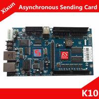 K10 Xixun  Asynchronous Sending Card  Indoor and Outdoor RGB  LED Screen Module / Control Range 640x480 pixels