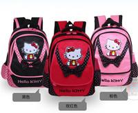 New Arrival Hello Kitty Backpack Girl Bag Student School Bags Primany School Bag