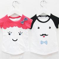 2014 summer fight sleeve boys clothing girls clothing baby child short-sleeve T-shirt tx-1892