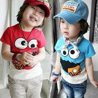 2014 summer personalized pattern boys clothing girls clothing baby child short-sleeve T-shirt tx-0307