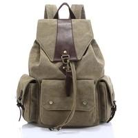 New Leisure vitality canvas backpack women travel bags kids school bag&backpacks girls boys outdoor&sports backpacks 8877